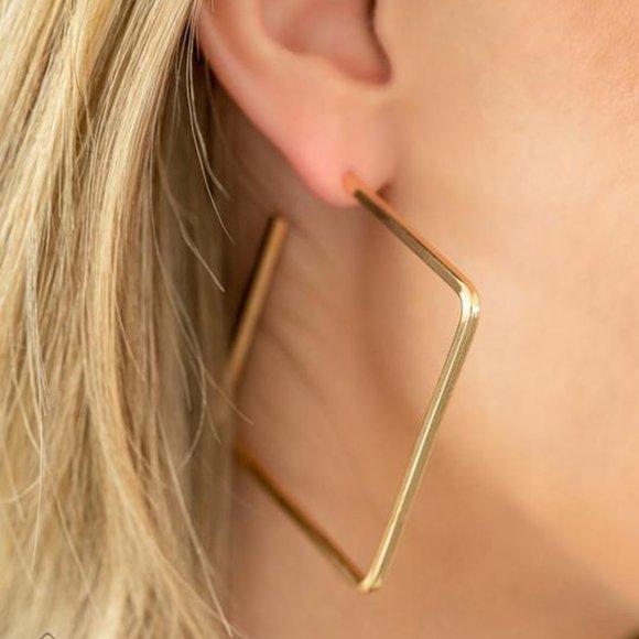 Material Girl Magic Hoop Earrings